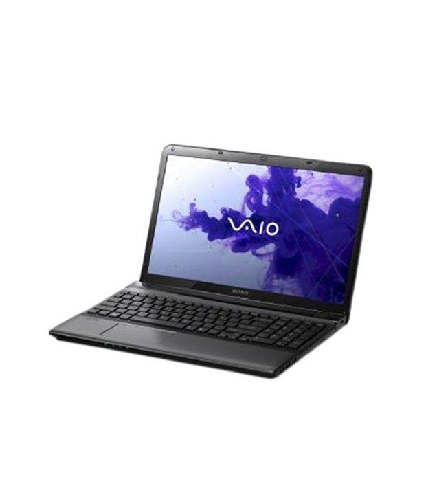 Sony Vaio E14 Series (SVE1413YPNB) Laptop (3rd GenCore i73520M- 4 GB RAM- 500 GB HDD- 35.56cm (14)- Win 8 Pro- 1GB AMD Radeon HD 7550M Graphics) (Black)