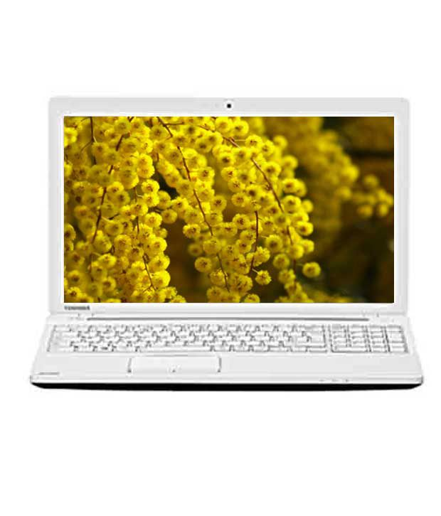 Toshiba Satellite C50-A I0013 Laptop (3rd GenCore i3 3110M- 2GB RAM- 500GB HDD- 39.62cm (15.6)- DOS) (Luxury White Pearl with Inlet Logo)