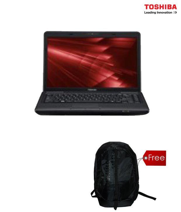 Toshiba Satellite C640-X4210 Laptop(with Free Toshiba Backpack)