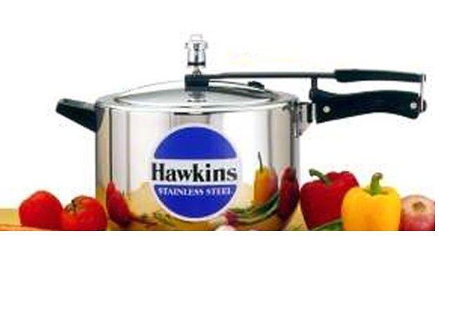 Hawkins Stainless Steel 8 Litre Inner Lid Pressure Cooker Pressure Cooker