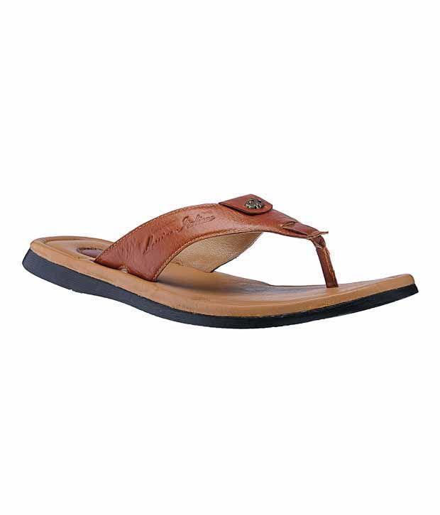 Massimo Italiano Comfortable Tan Sandals