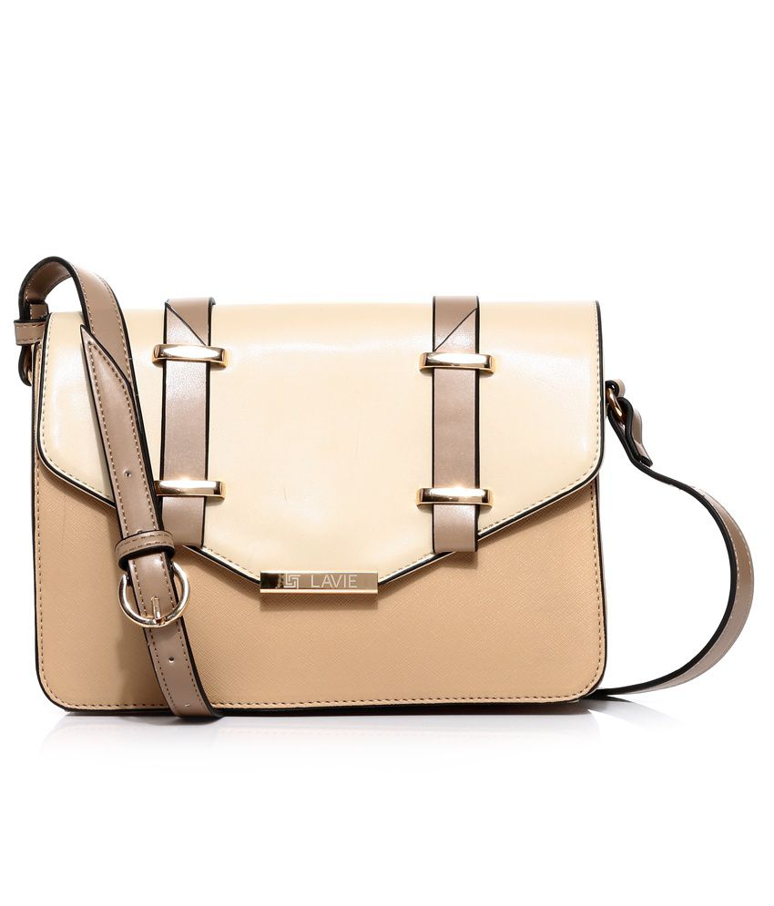 Lavie 8903606031565 Beige Sling Bags - Buy Lavie 8903606031565 ...