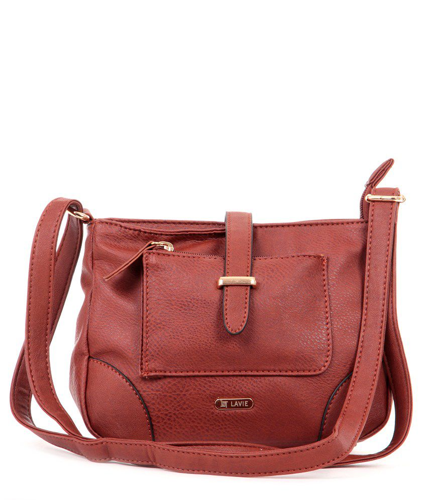 Lavie 8903606032579 Brown Sling Bags - Buy Lavie 8903606032579 ...
