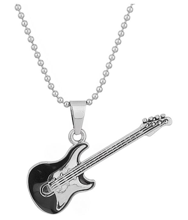 Voylla Guitar Pendant for Men