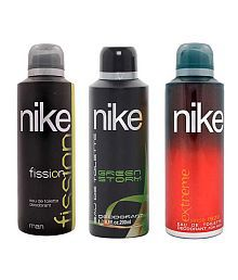 Nike Extreme Fission Green Storm Deodorant for Men-200ml Each