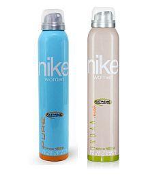 Nike Pure, Urban Musk Deodorants 200ml For Women Pack Of 2