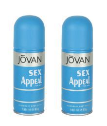 Jovan (Sex Appeal, Sex Appeal)  Deodorant Men 150ml (Buy 1 Get 1 free)