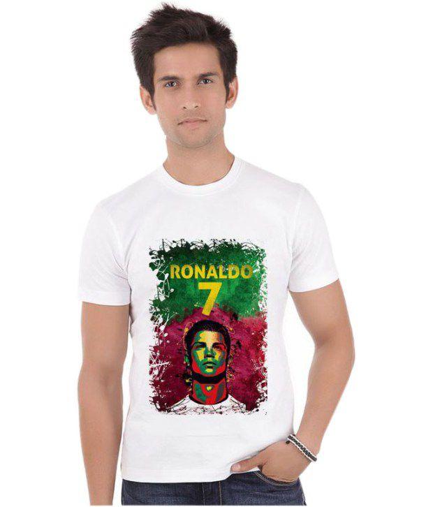 Bluegape Cristiano Ronaldo 07 Portugal Real Madrid Fifa World Cup 2014 T-Shirt