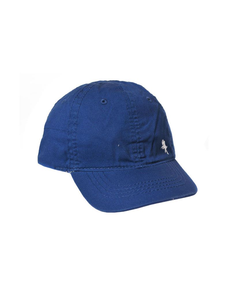 H M Blue Cotton Baseball Cap Kids  Buy Online at Low Price in India ... 8f6db0fc051