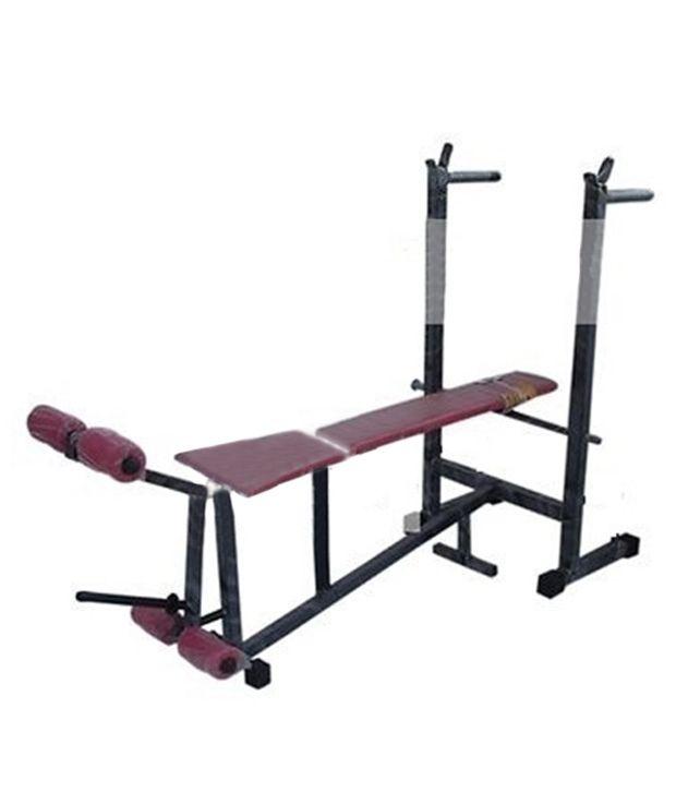 bodyfit 6 in 1 weight lifting multi purpose bench pressheavy duty