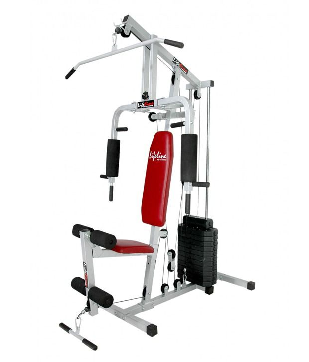 Lifeline multi home gym with pound weight stack buy