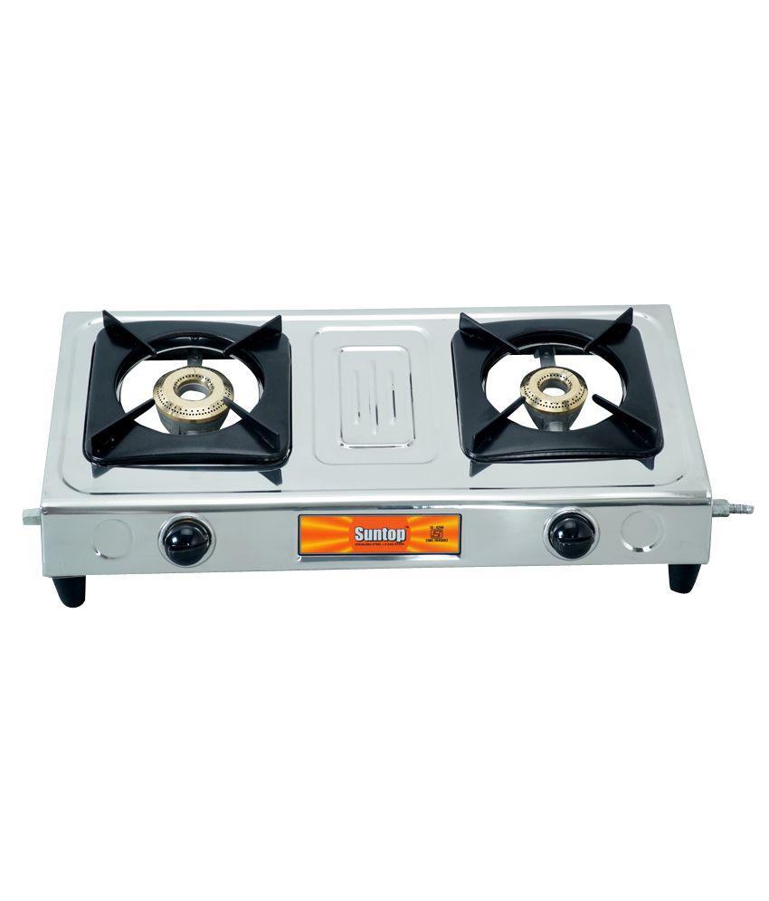 Mini Stove: SunTop Mini Gas Stove 2 Burner Price In India