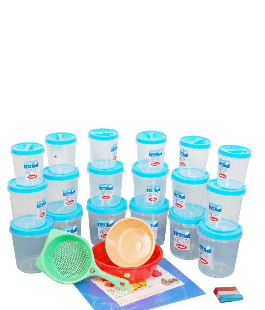 Chetan 28 Pc Set Multipurpose Jumbo Kitchen Container