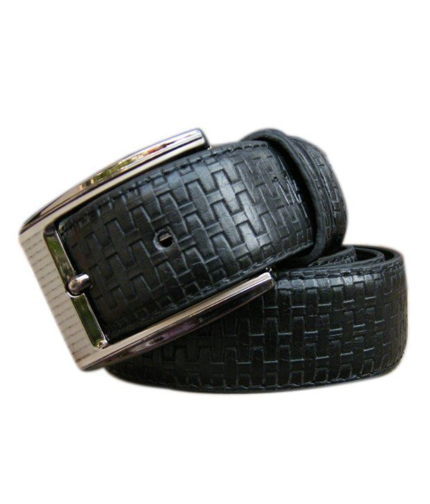 WINSOME DEAL Black Formal Single Belt ForMen NO