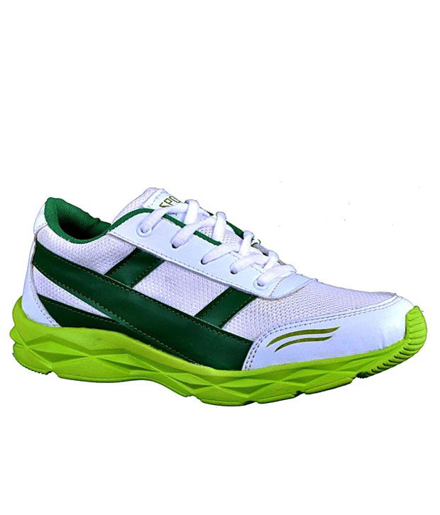 Aureno Green Sport Shoes