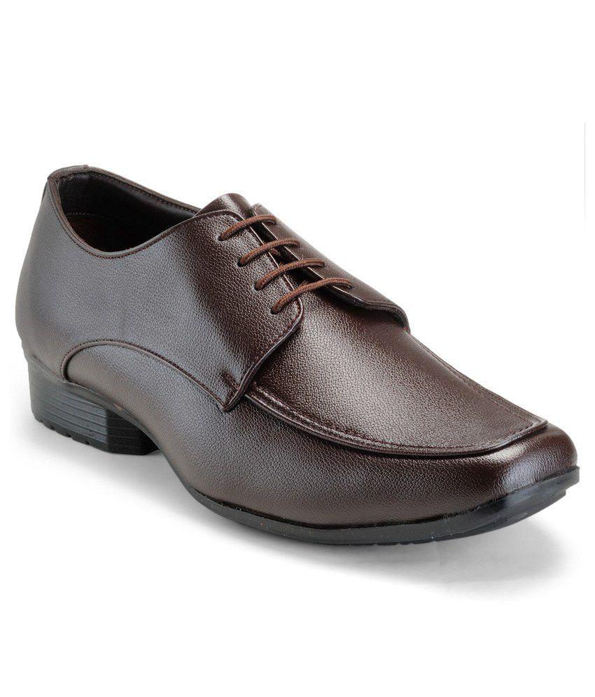 Randier Brown Formal Shoes