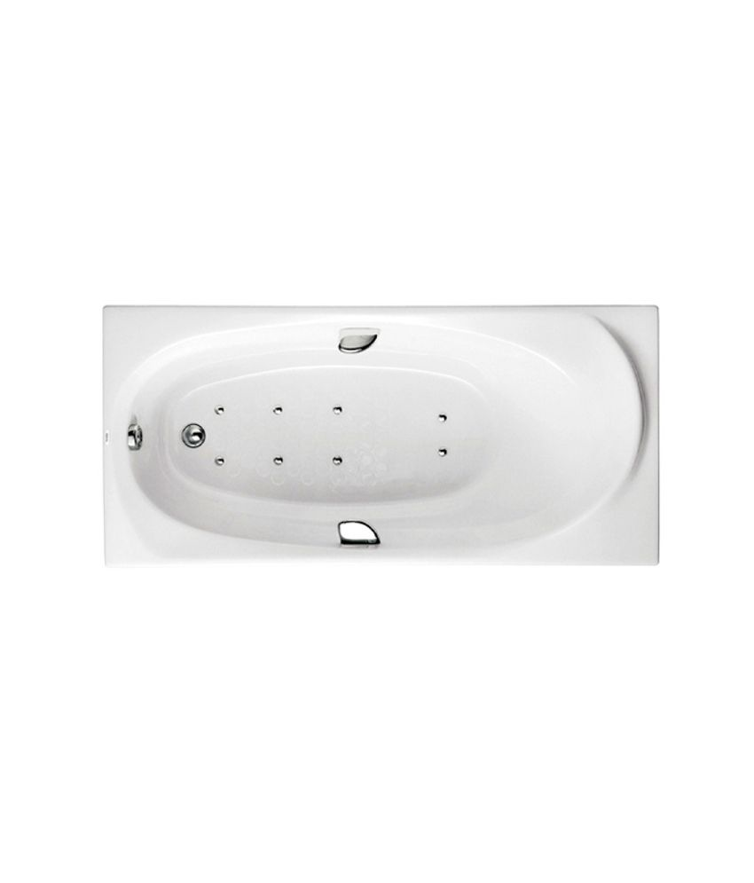 Buy Toto Pearl Acrylic Bathtub With Air Jet Massage And Hand Grip ...