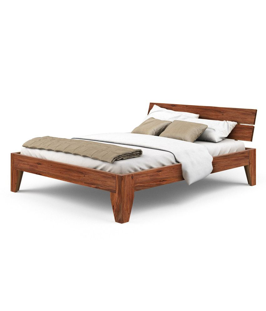 Camelot Sheesham Wood Queen Size Bed Buy Camelot Sheesham Wood Queen