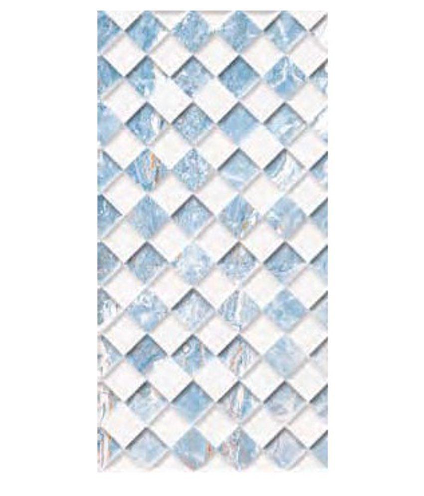 Kajaria Ceramic Wall Tiles Galaxy. Buy Kajaria Ceramic Wall Tiles Galaxy Azul Pyramid  Online at Low