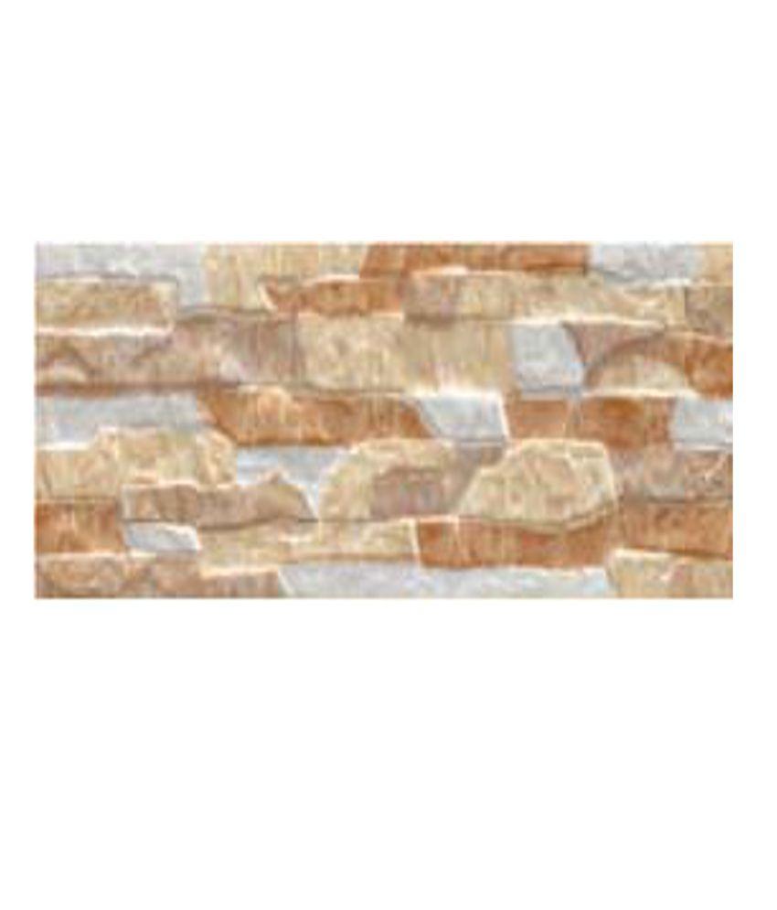 Kajaria Ceramic Wall Tiles. Buy Kajaria Ceramic Wall Tiles  Wall Rock Ocre  Online at Low