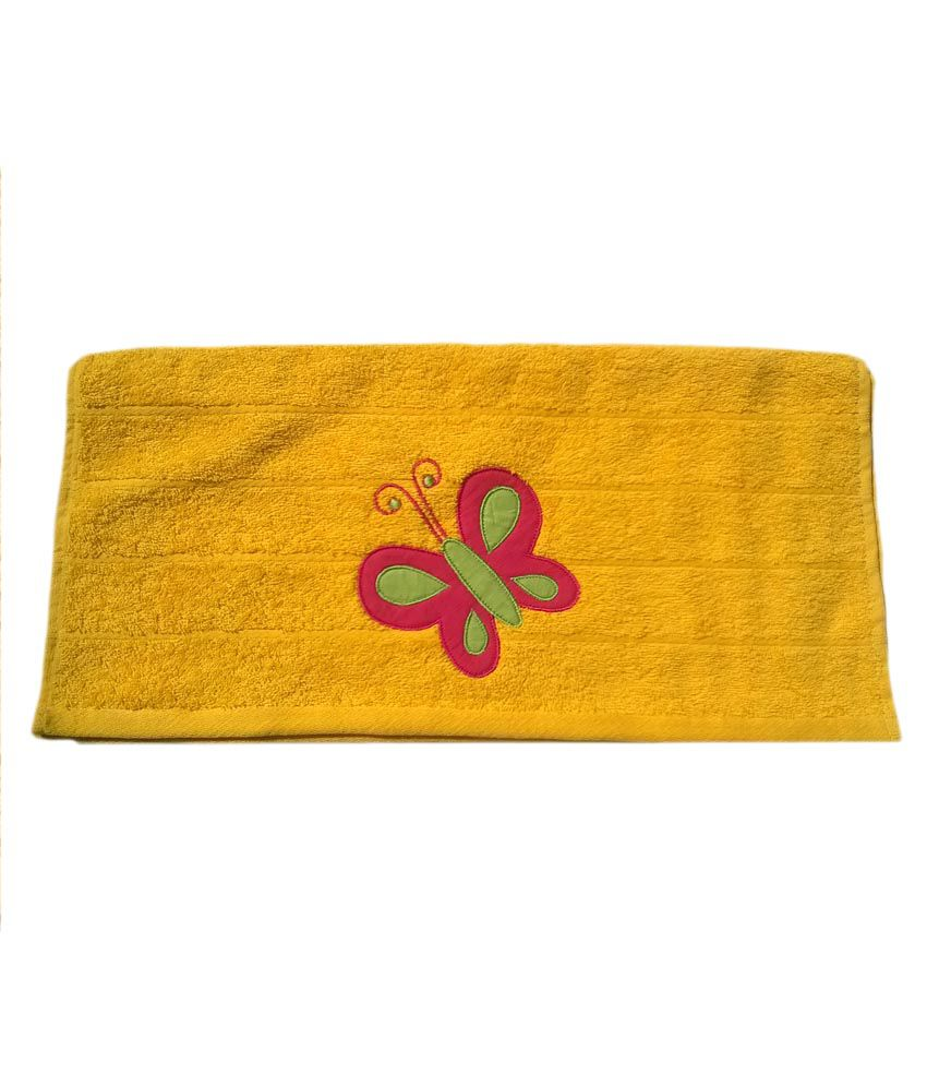 Towel Fly Butterfly-Yellow