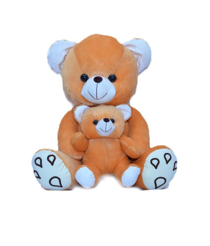JOEY TOYS M.C. Teddy Bear 42 C.M. stuffed love soft toy for boyfriend, girlfriendS BROWN COLOUR
