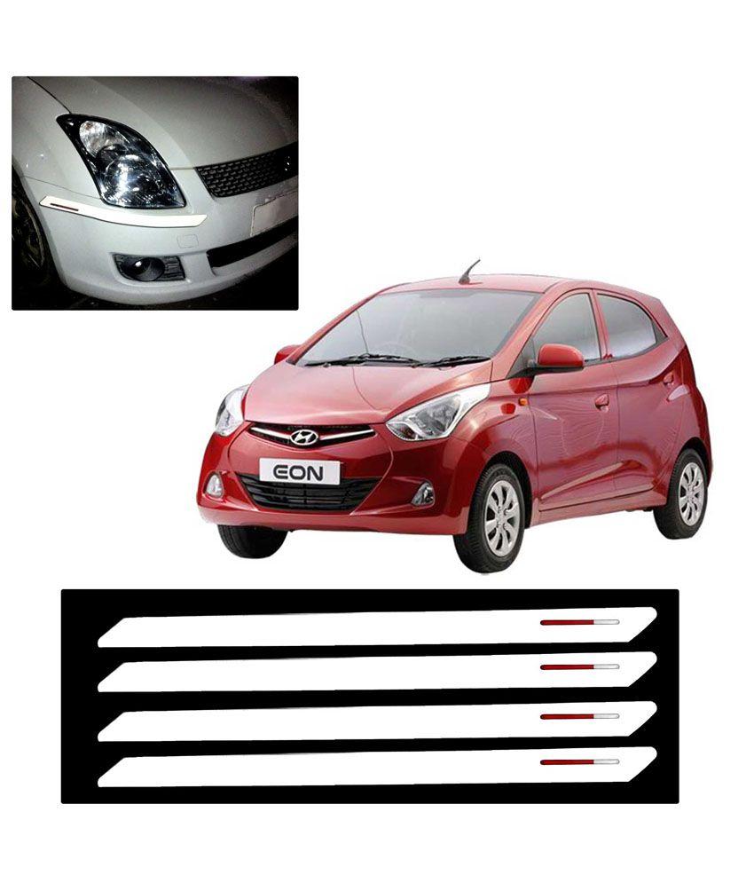 Premium Quality Car Bumper Protector For Hyundai Eon White Buy