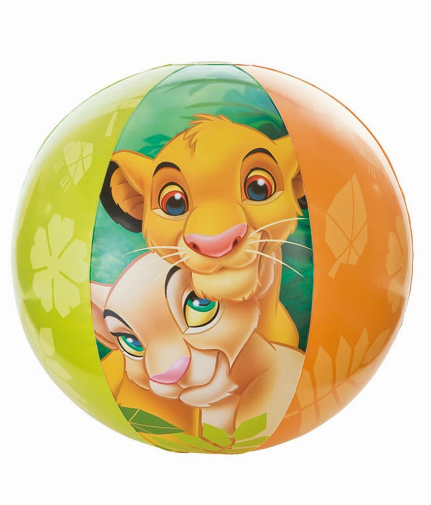 MAMALOVE DISNEY MAMALOVE DISNEY LION KING BEACH BALL Pool Accessories