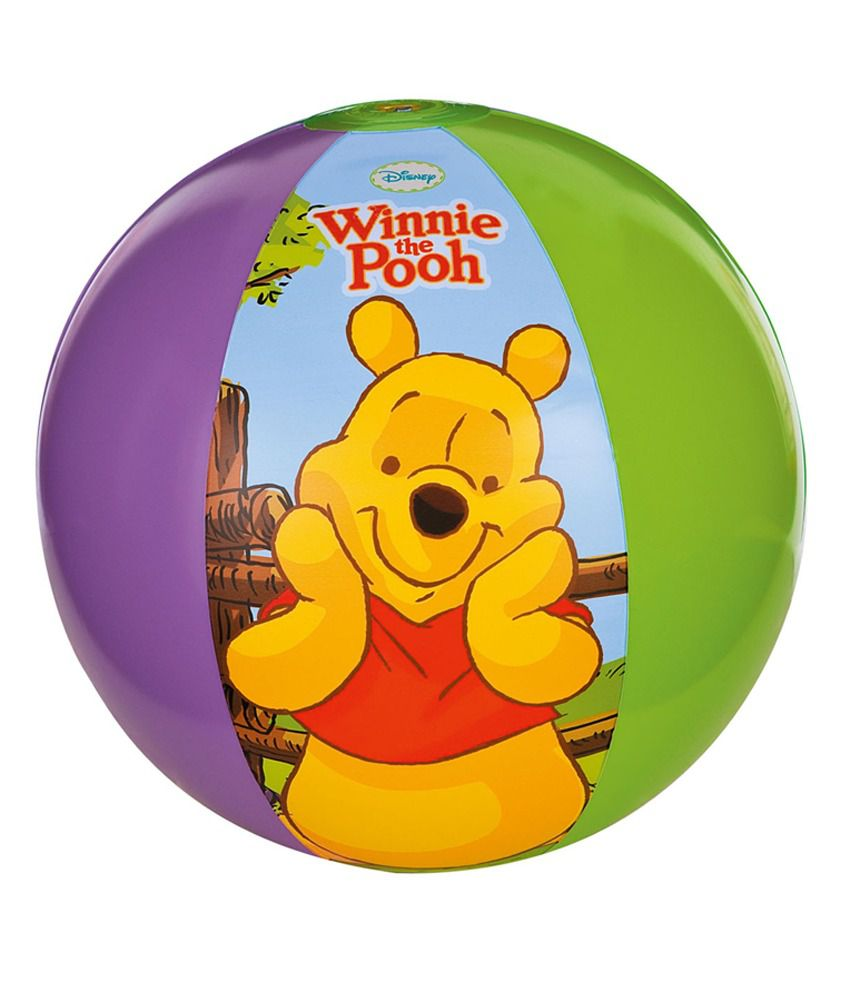 MAMALOVE DISNEY MAMALOVE DISNEY WINNIE THE POOH BEACH BALL Pool Accessories