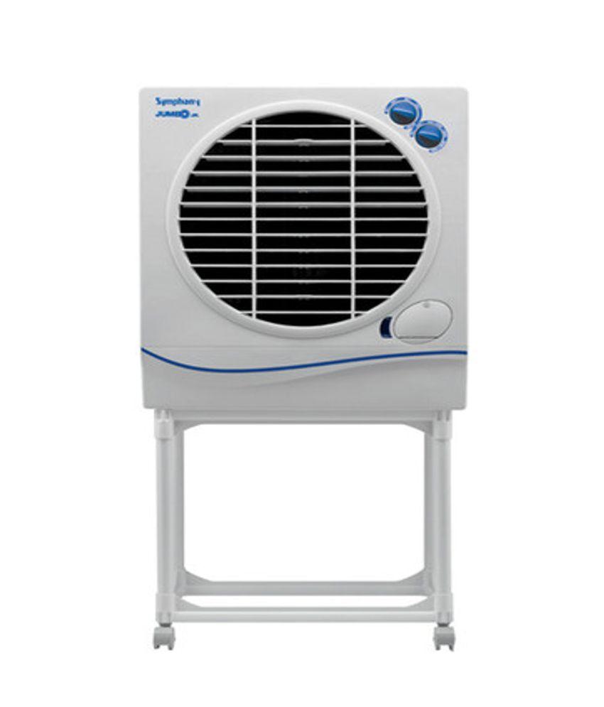 Symphony Air Cooler : Symphony jumbo jr with trolley air cooler for medium