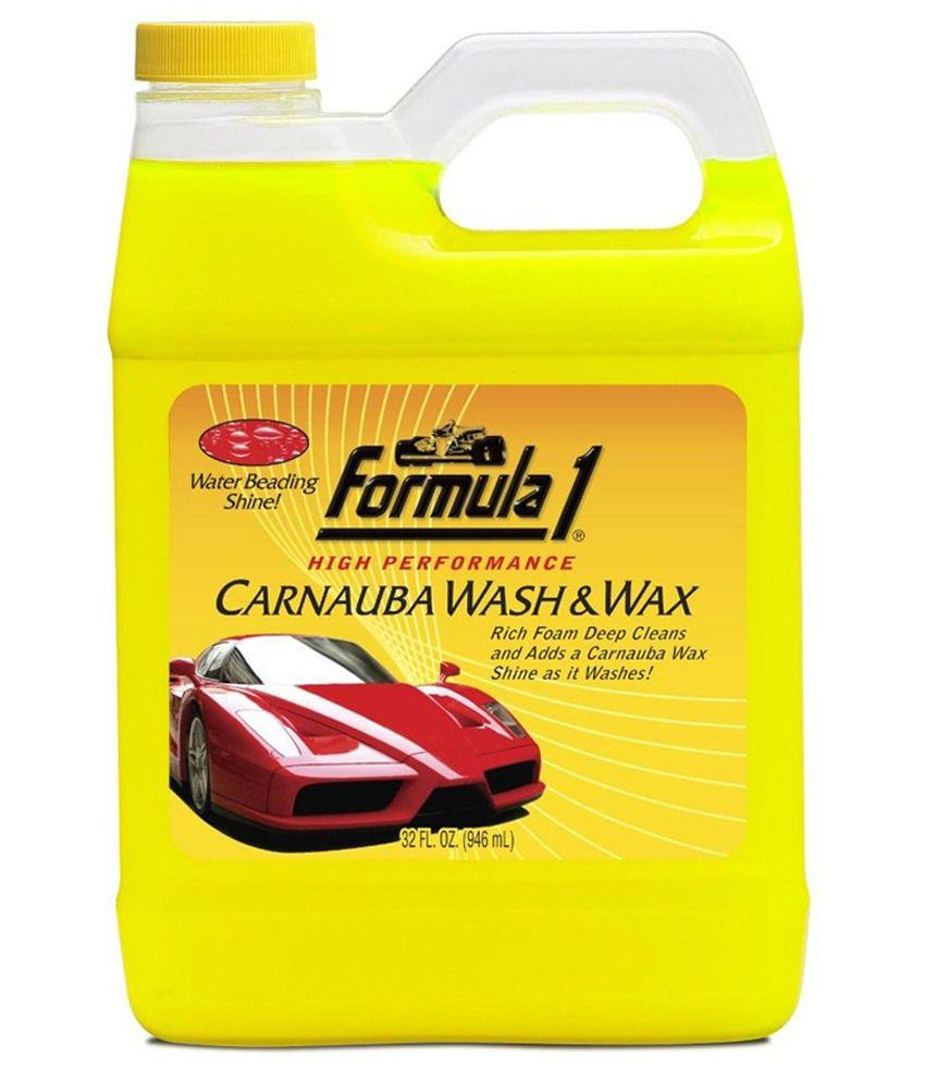 Formula 1 Carnauba Wash Amp Wax Car Shampoo 946 Ml Buy