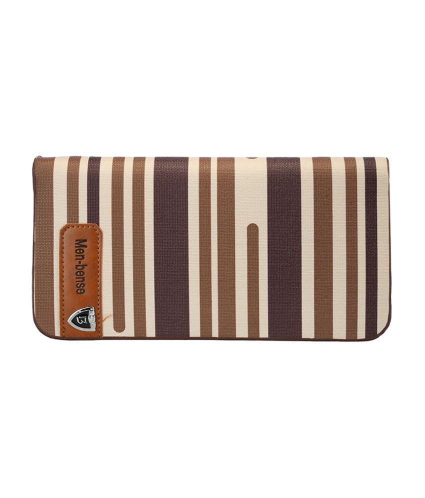 Bags Craze BCONLB007 Brown Clutch