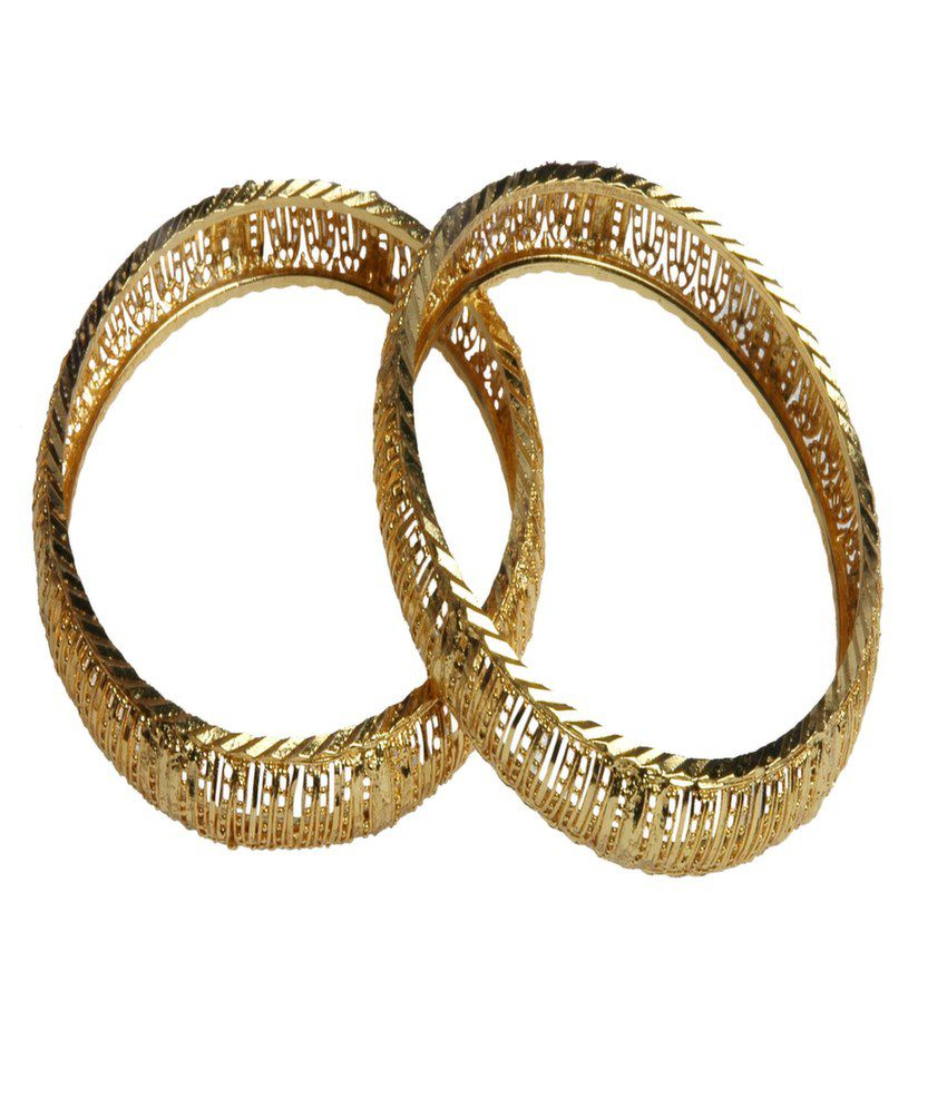 Karigari Online Fashions Golden Colour In 2.6 Size