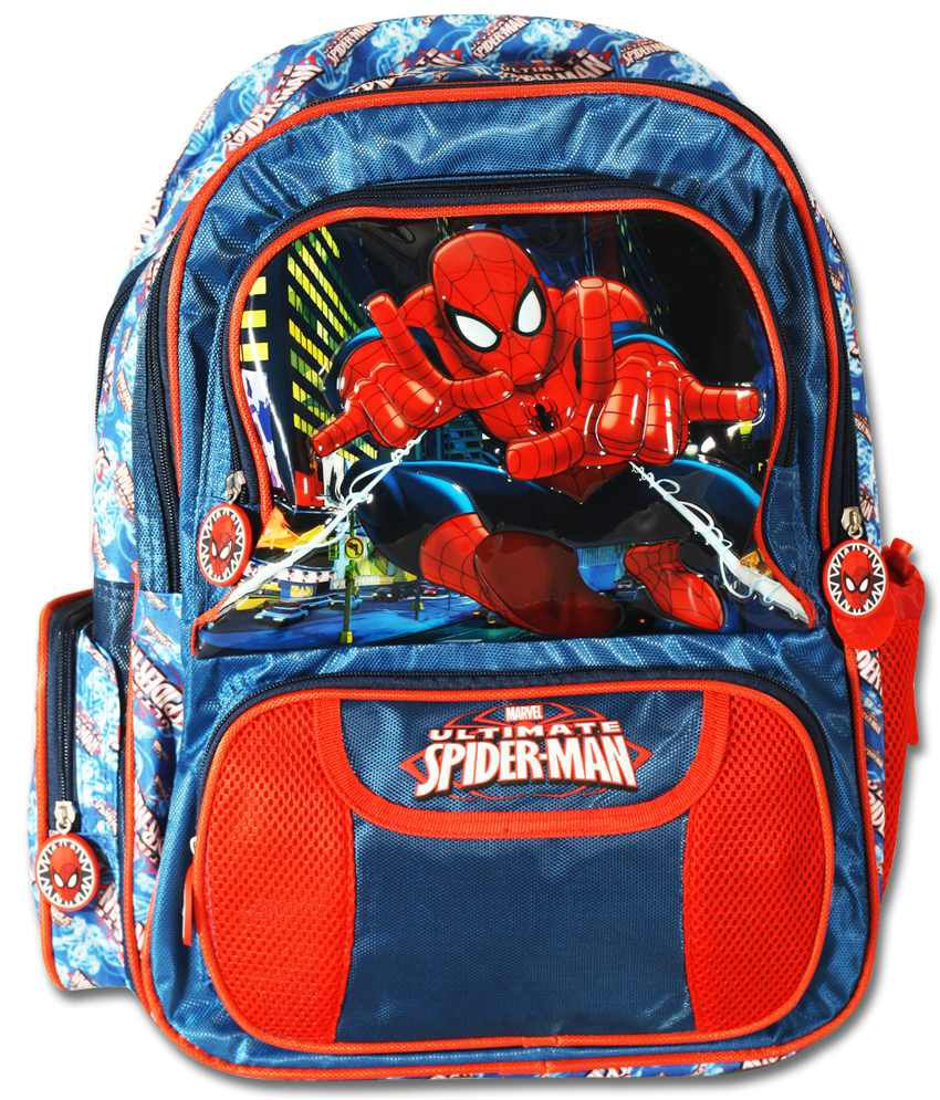 36d54922d48e Marvel Spiderman Multicolor Kids School Bag - Buy Marvel Spiderman  Multicolor Kids School Bag Online at Low Price - Snapdeal