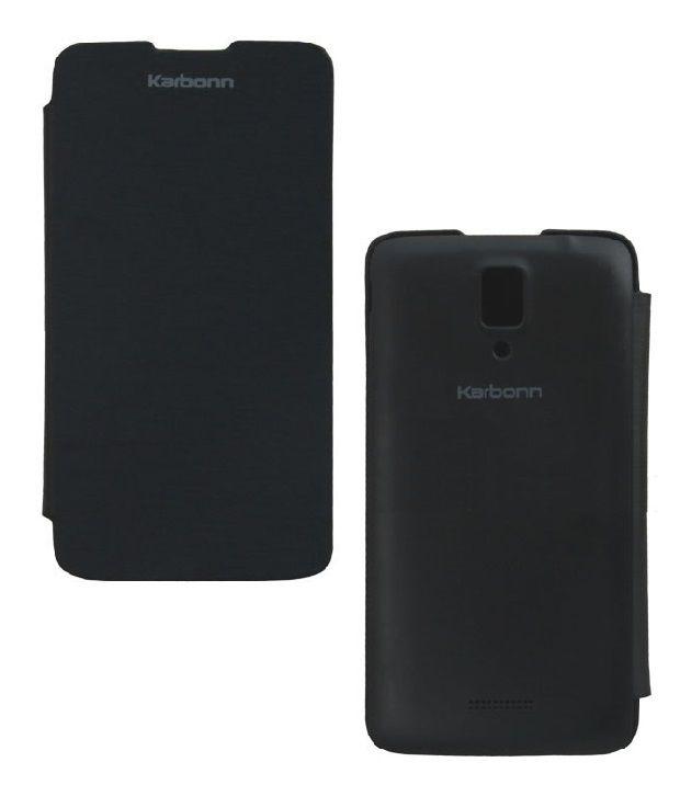 Karbonn S5 Plus Flip Cover YGS Flip Cover Case Co...