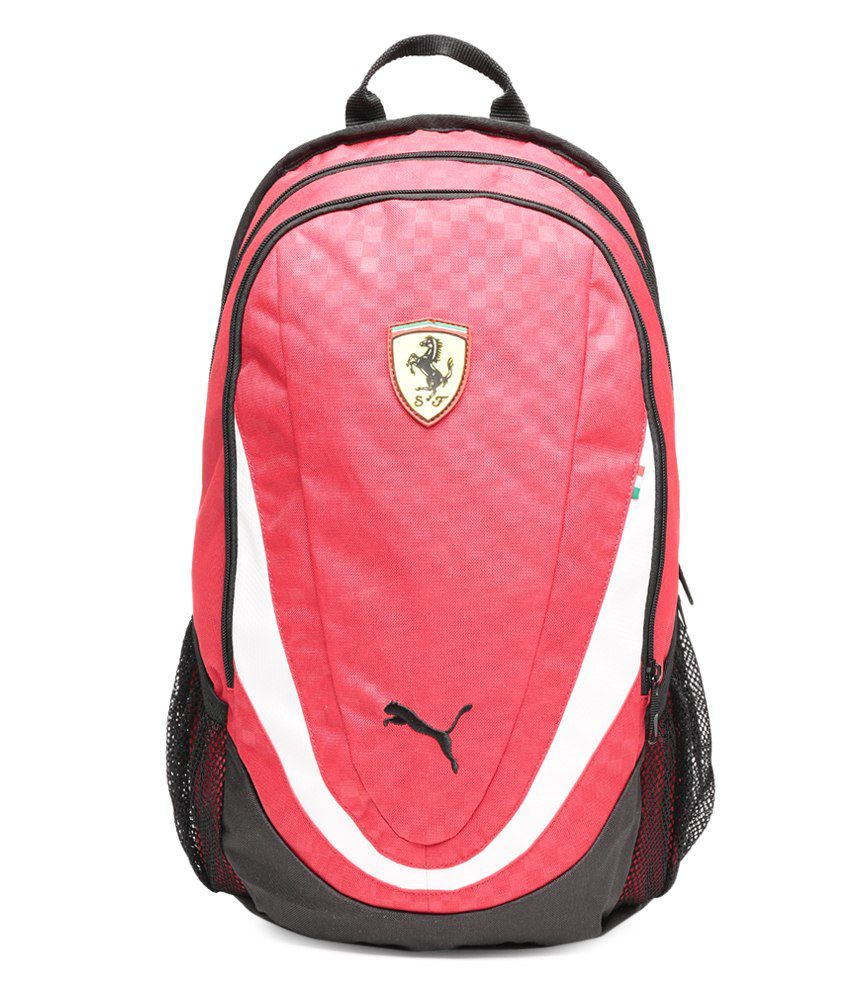 Puma Ferrari White   Black Replica Backpack - Buy Puma Ferrari White    Black Replica Backpack Online at Best Prices in India on Snapdeal df6f7249252fa