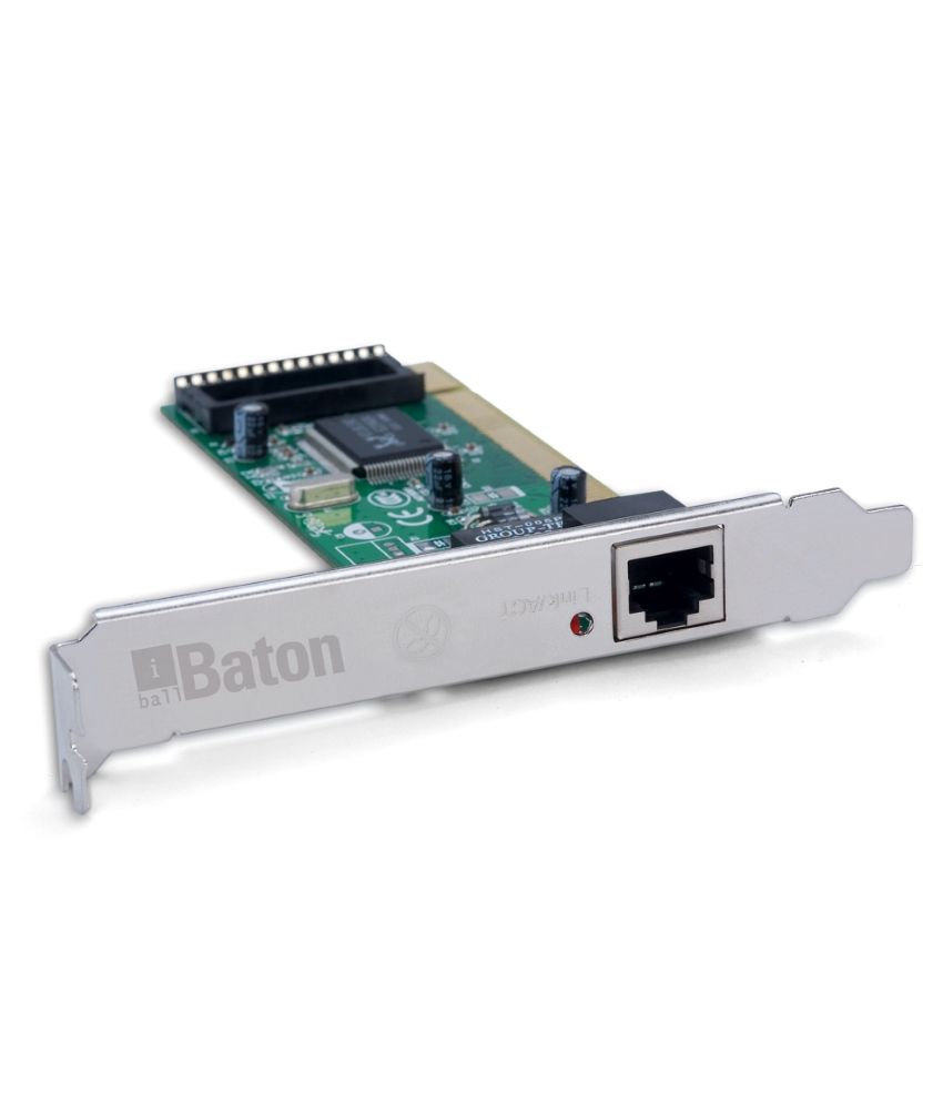 iBall Baton 10/100M PCI Ethernet Network Adapter LAN Card