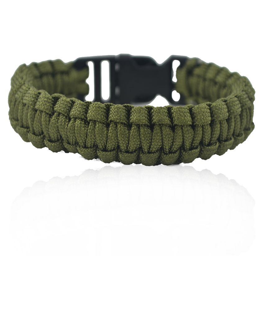 Aero Sport Green Survival Rope Bracelet