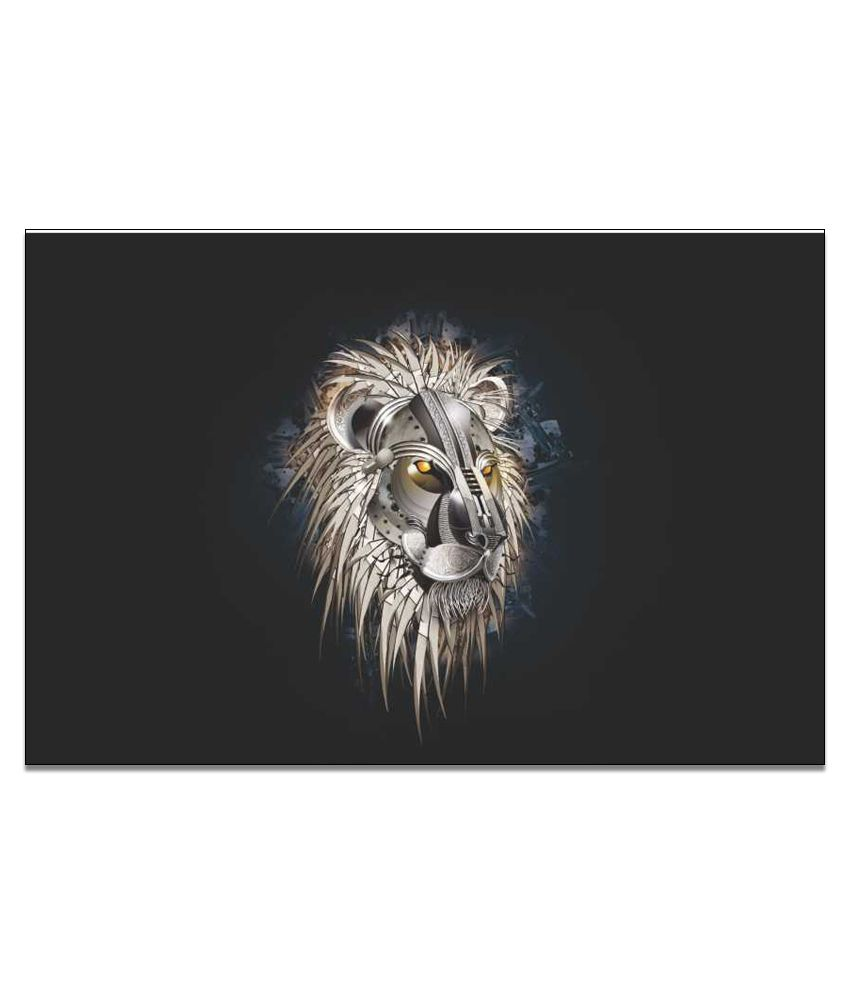 Finearts Creative Lion Canvas Wall Painting