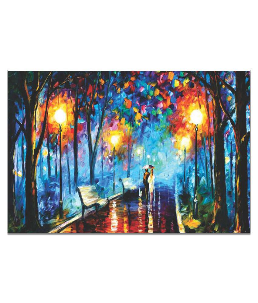 Finearts Modern Abstract Canvas Wall Painting