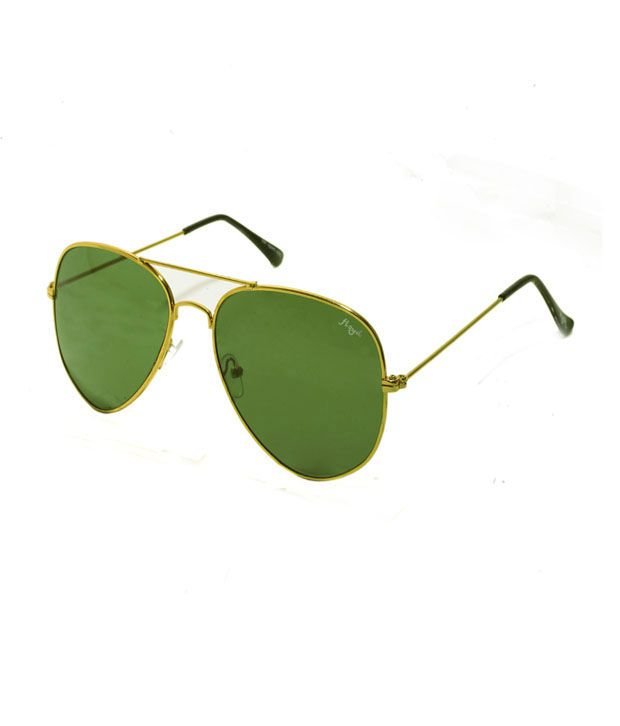 7954b21bf2c5 Floyd Aviator 3025_GOLD_GRN Unisex Sunglasses - Buy Floyd Aviator  3025_GOLD_GRN Unisex Sunglasses Online at Low Price - Snapdeal