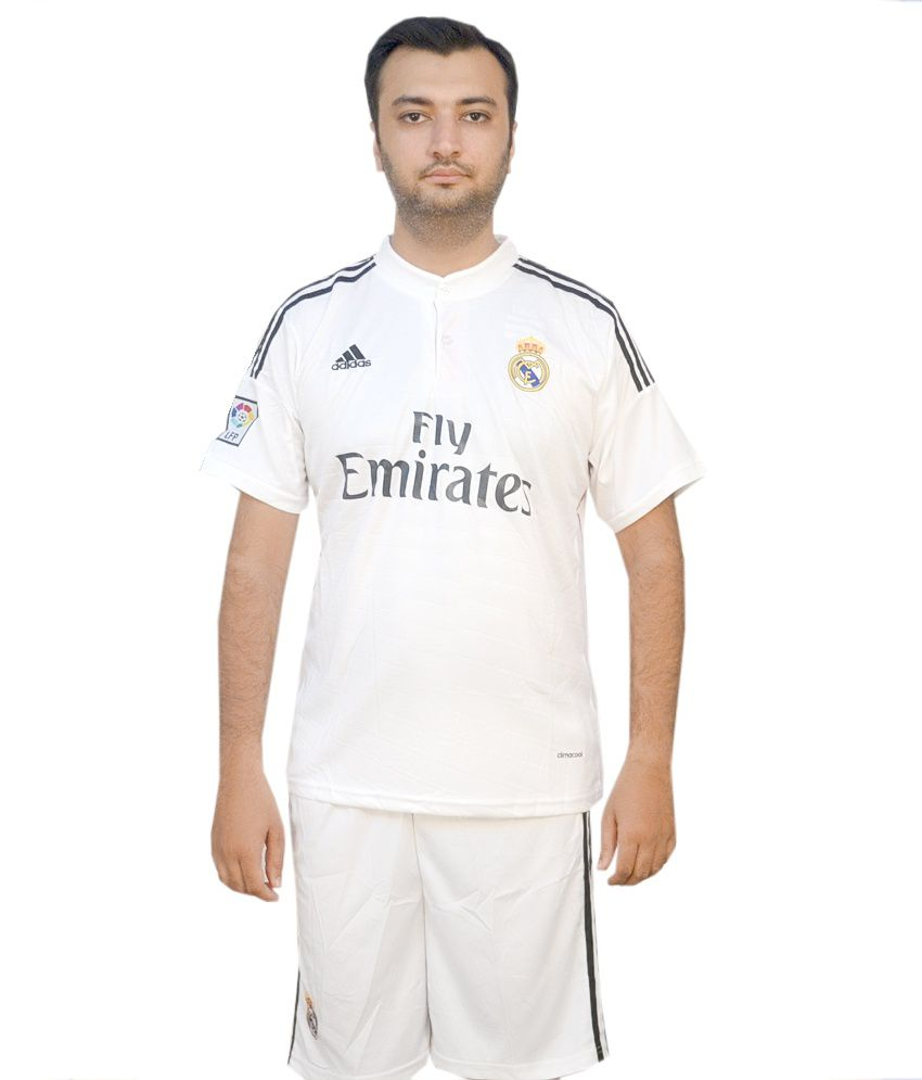 040d0451b04 Mm Products Real Madrid Home Jersey Kit 2014-15 - Buy Mm Products Real  Madrid Home Jersey Kit 2014-15 Online at Low Price - Snapdeal.com