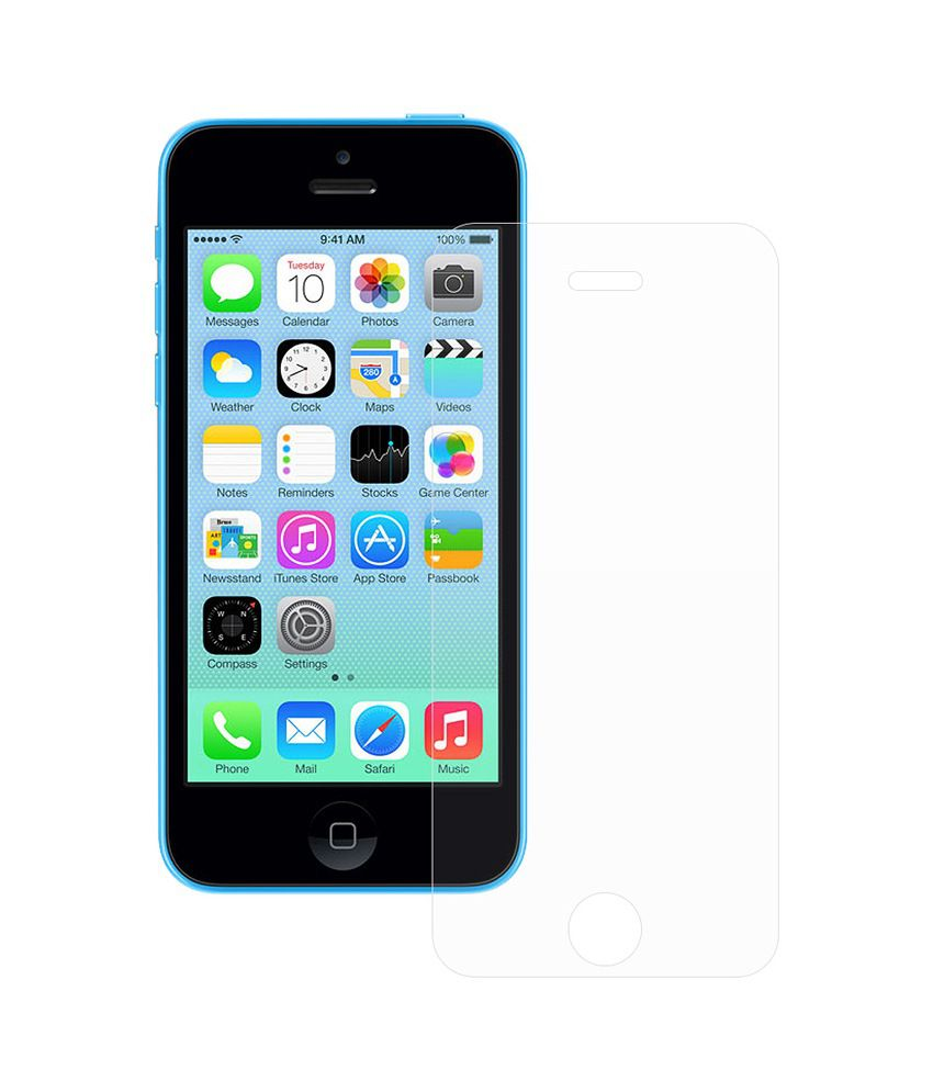 Apple Iphone 5c Clear Screen Guard by Ostriva