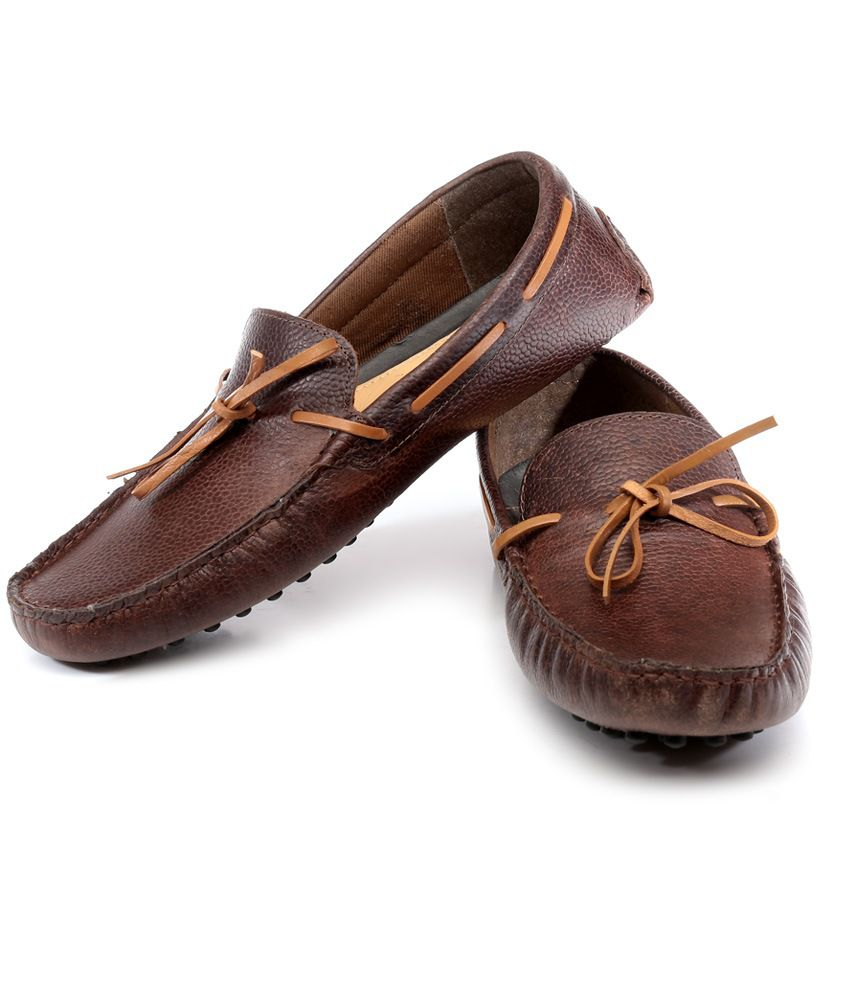 f070245930a Red Tape Brown Loafers - Buy Red Tape Brown Loafers Online at Best ...