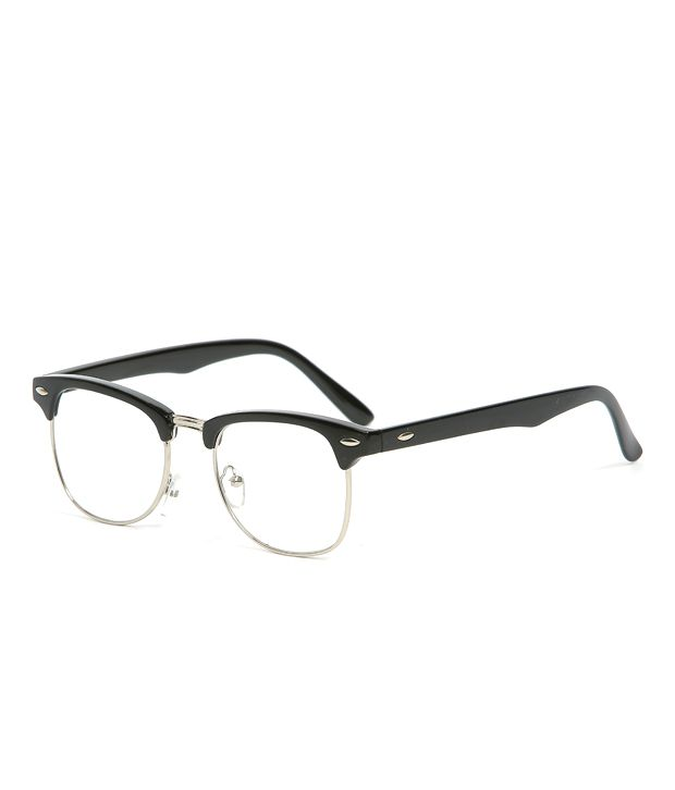 clubmaster frames cheap  Men\u0027s Fashion Frame Clubmaster Eyeglasses w/ Clear Glass Lens ...