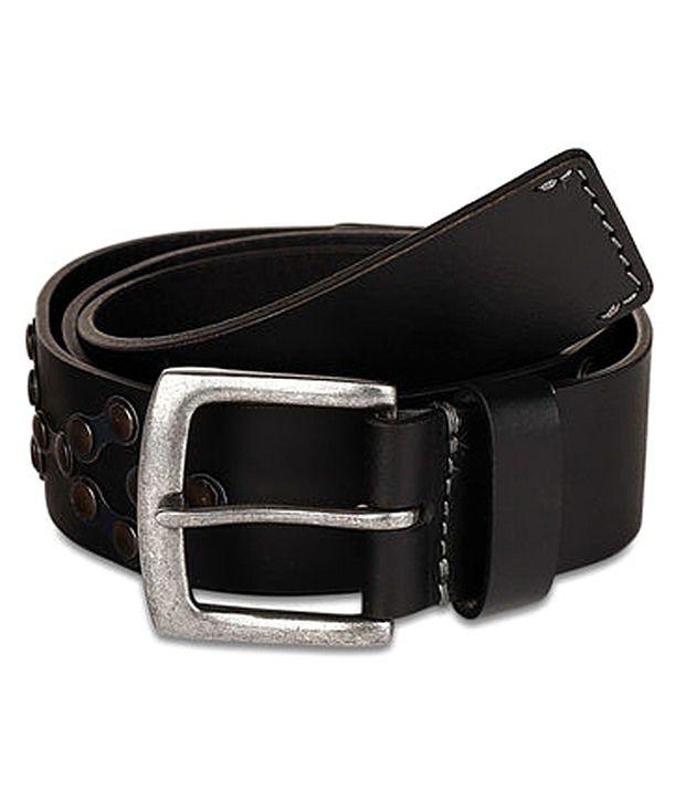 paradigm desin lab Black Casual Single Belt ForMen