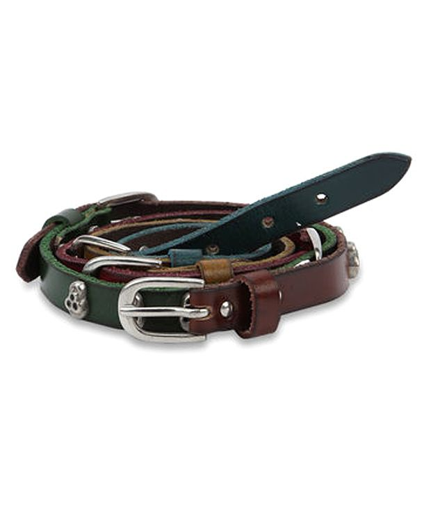paradigm desin lab Brown Casual Single Belt ForMen