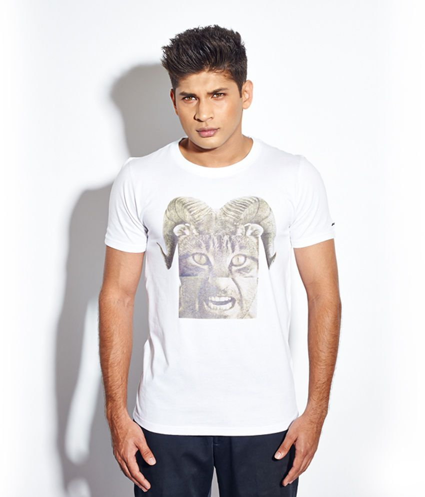 Madmo Animal White T-shirt