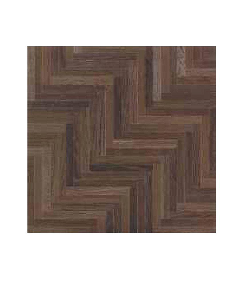 Buy Somany Ceramic Floor Tiles Green Wood Chocolate 1500 Sqft Online