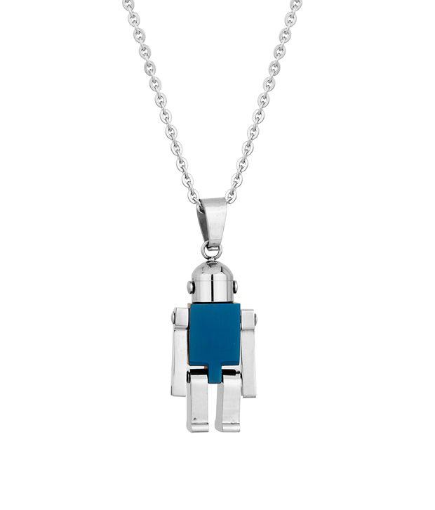 Voylla Exquisite Mens Pendant With Blue Color